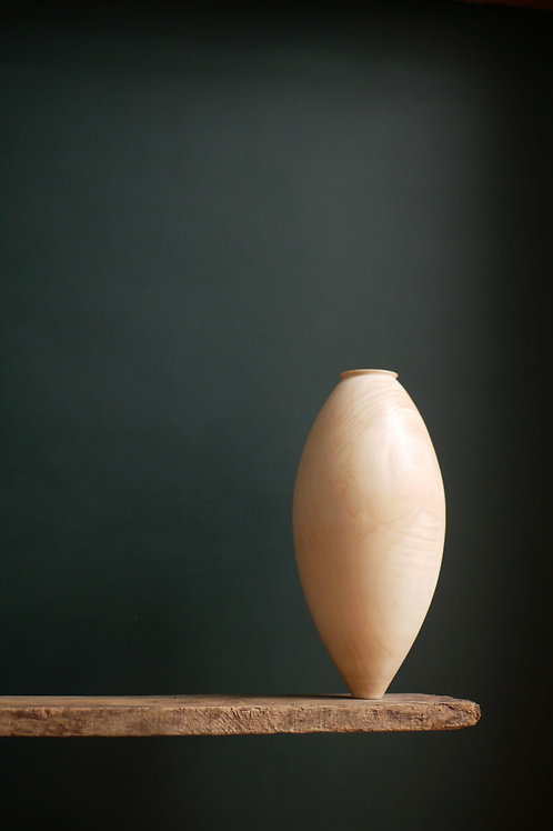 Large Sycamore Balance Vessel