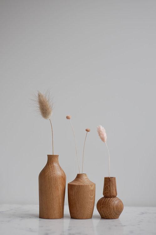 Oak Bud Vases Mini Set #1