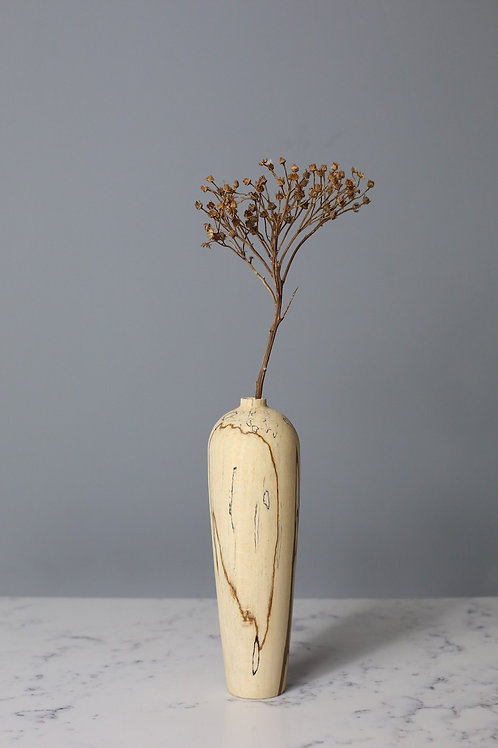 Spalted Beech Dried Flower Vase #2