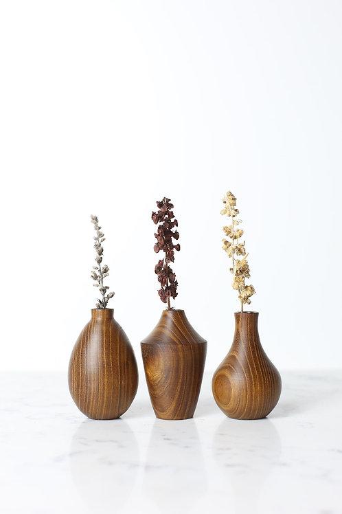 Laburnum Mini Dried Flower Vase Set #1