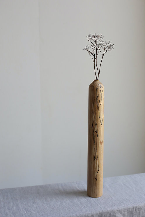 Spalted Beech Dried Flower Vase #15