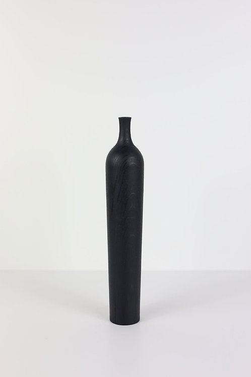 Ebonised Oak Dried Flower Vase #4