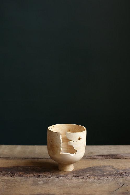 Horse Chestnut Burr Voided Vessel #1