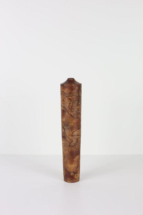 Spalted Elm Burr Dried Flower Vase #8