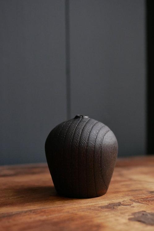 Charred Ash Bud Vase #4