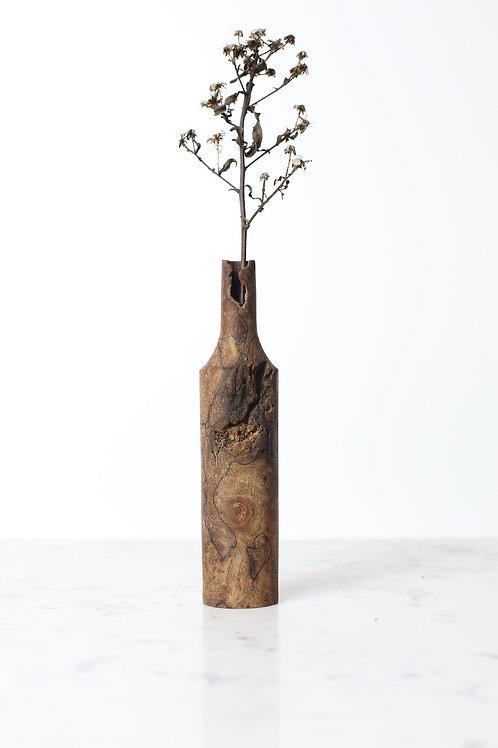 Spalted Elm Burr Dried Flower Vase #3