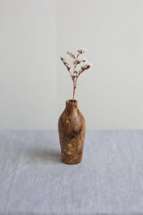 Oak Burr Dried Flower Vase #12