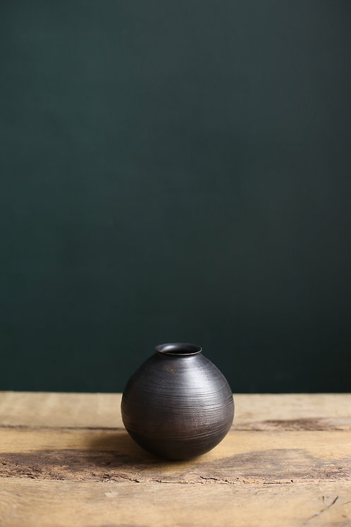 Ebonised Sycamore Gourd Vessel