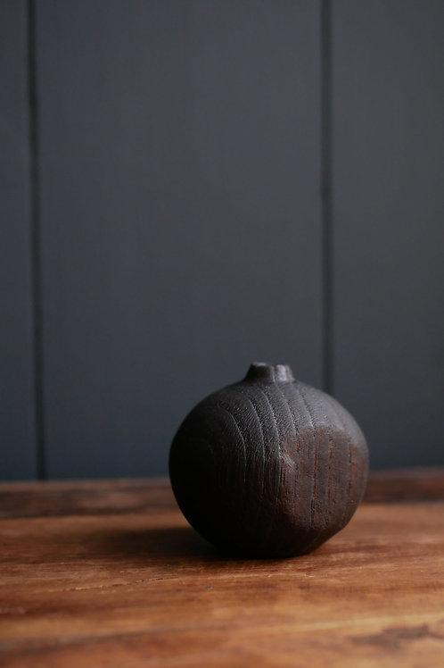 Charred Ash Bud Vase #3