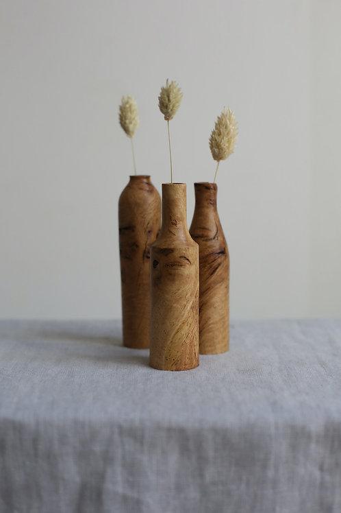Oak Burr Mini Dried Flower Vases Set #7