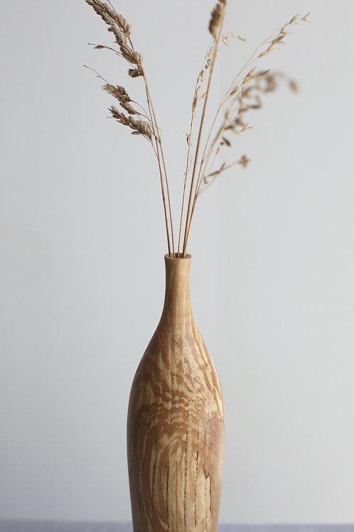 Spalted Ash Dried Flower Vase #2