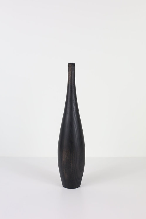 Ebonised Ash Dried Flower Vase #12