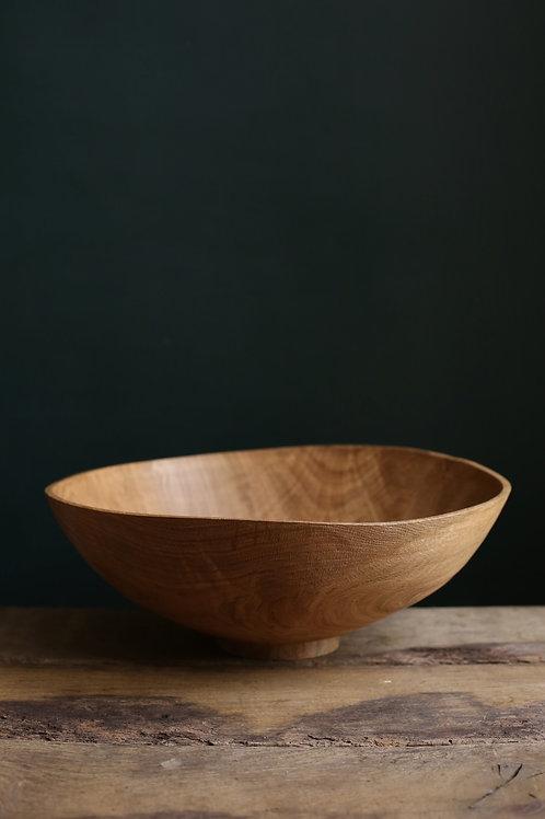 Large Oak Atlas Bowl