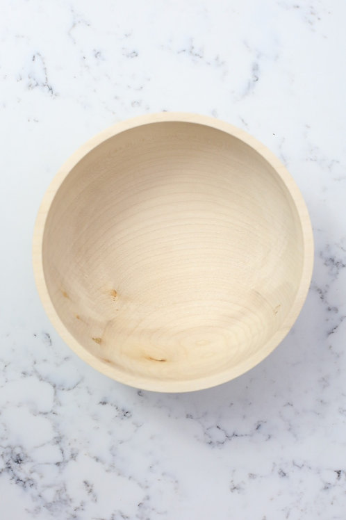 Small Sycamore Arc Bowl