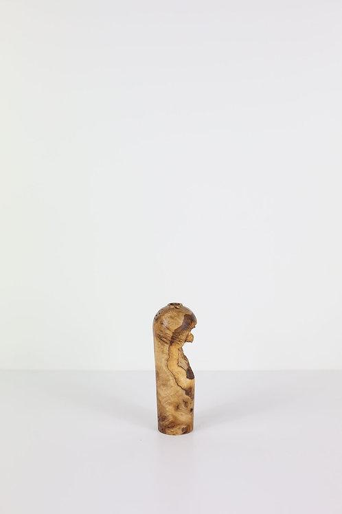 Oak Burr Dried Flower Vase #1