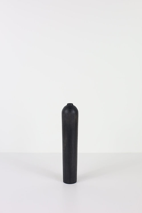 Ebonised Ash Small Dried Flower Vase #2
