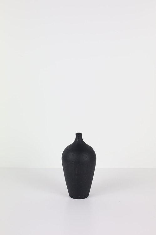 Ebonised Oak Dried Flower Vase #3