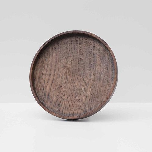 Ebonised Oak Plate