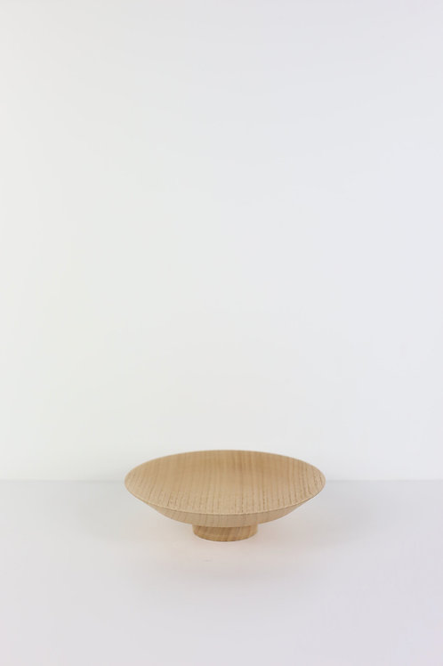 Brushed Chestnut Moon Plate