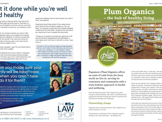 Plum Organics Papamoa in focus magazine
