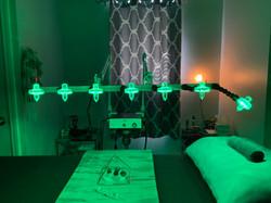 Heart Chakra Crystal Healing Lights