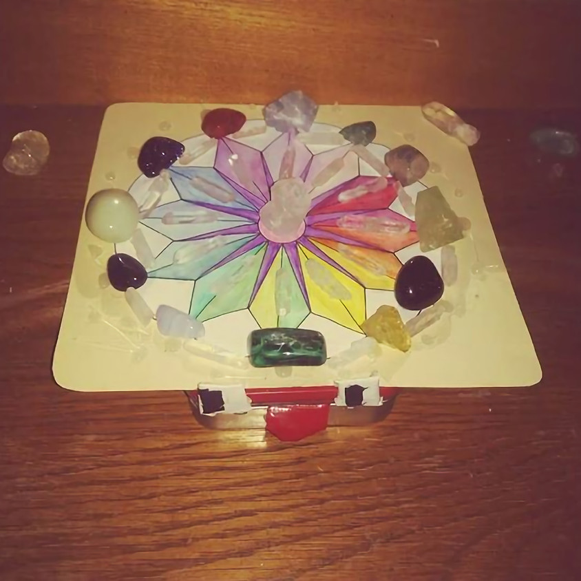 The Power of Crystals Grids - Set Your Intention!