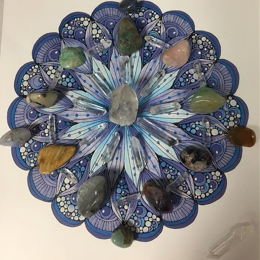 Learn to work with crystals & Create Your own Crystal Grid