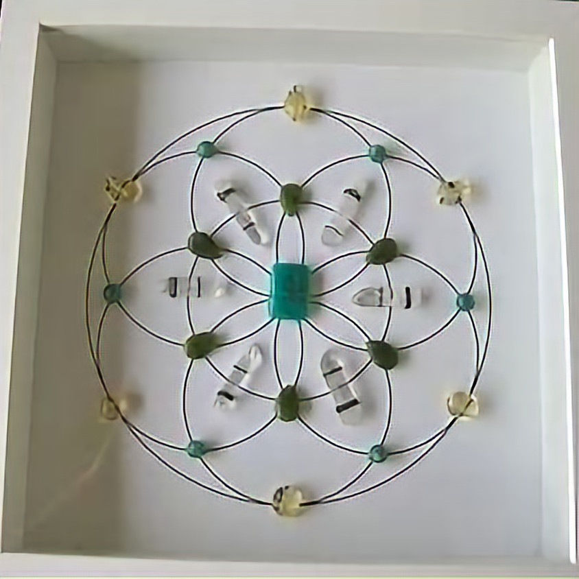 The Power of Crystals & Crystal Energy Grids Learn to work with crystals & Create Your own Crystal Grid (1)