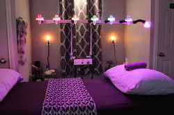 Crystal Healing Bed
