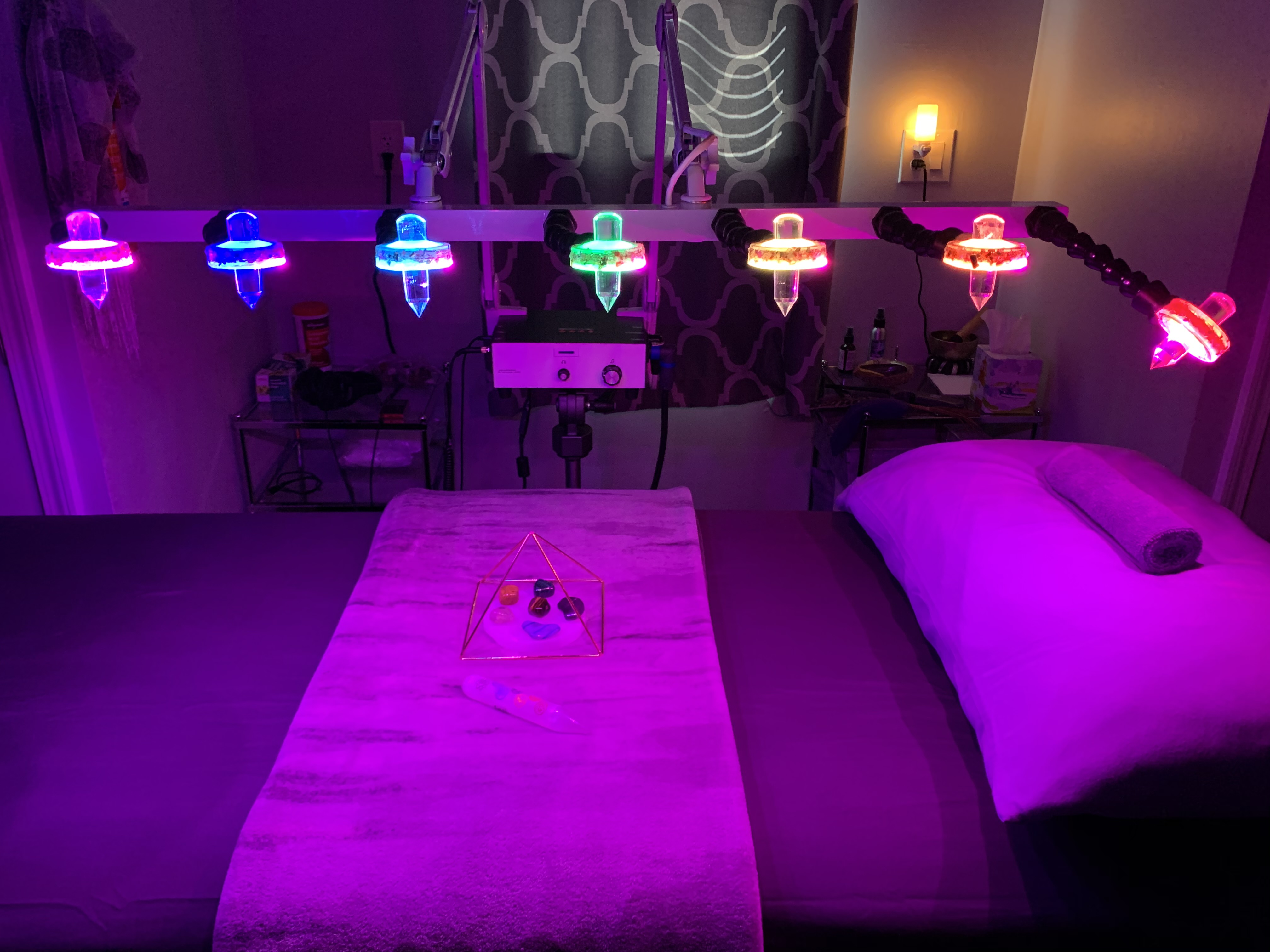 Crystal Light Therapy