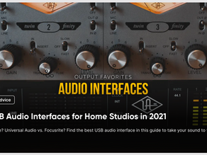 10 Best USB Audio Interfaces for Home Studios in 2021
