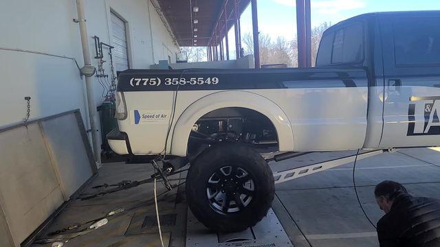 Ford 7.3L Power Stroke Dyno run