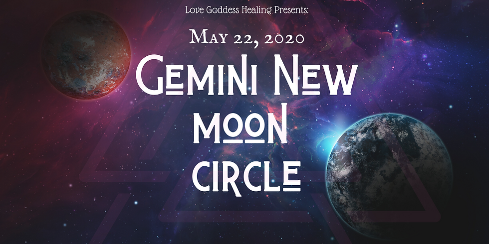 Gemini New Moon Circle: Led by Shahil