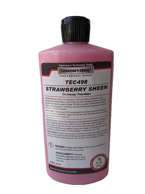 Strawberry Sheen Dressing