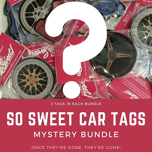 So Sweet Car Tag Mystery Bundle