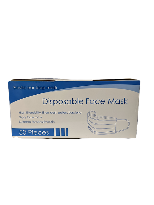 Blue Disposable Face Masks