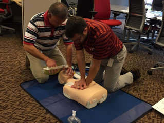 SSVA Employees Learn CPR / AED