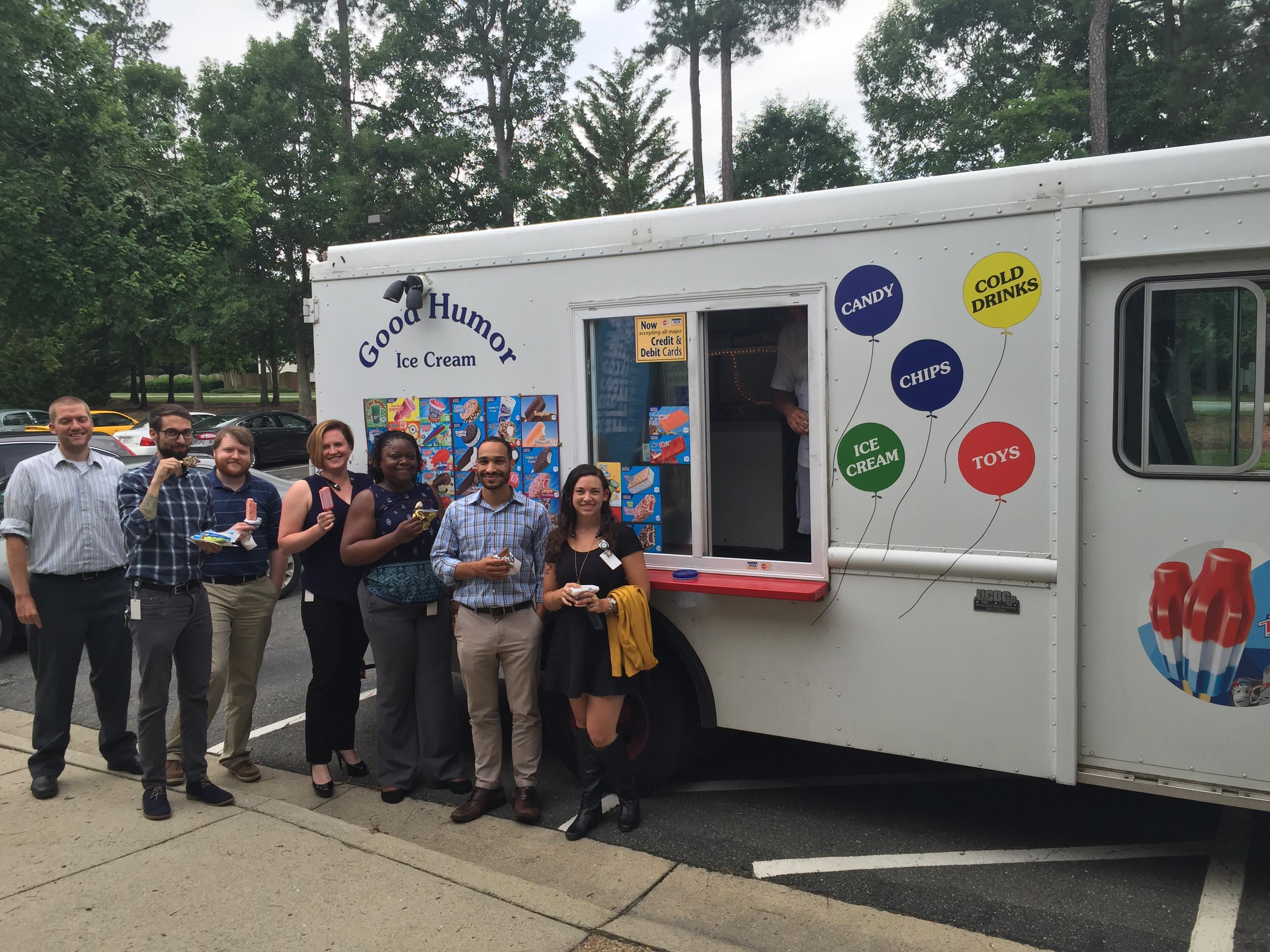 Ice Cream Truck Visit