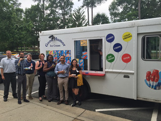 The Ice Cream Man Visits Strategic Solutions