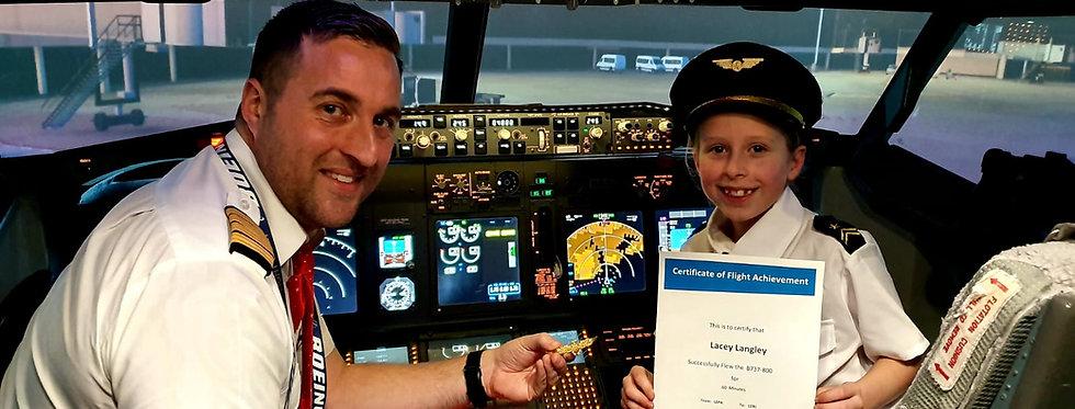 30 Minute Boeing 737 Virtual Flight Experience