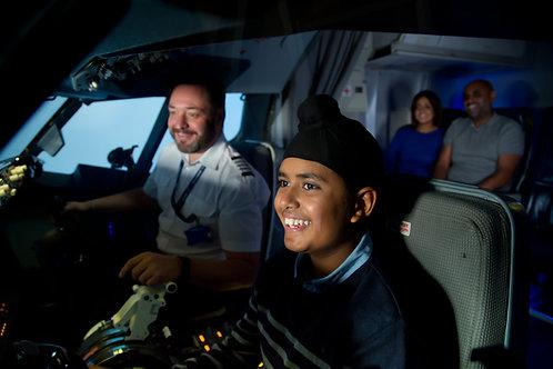 90 Minute Boeing 737 Virtual Flight Experience