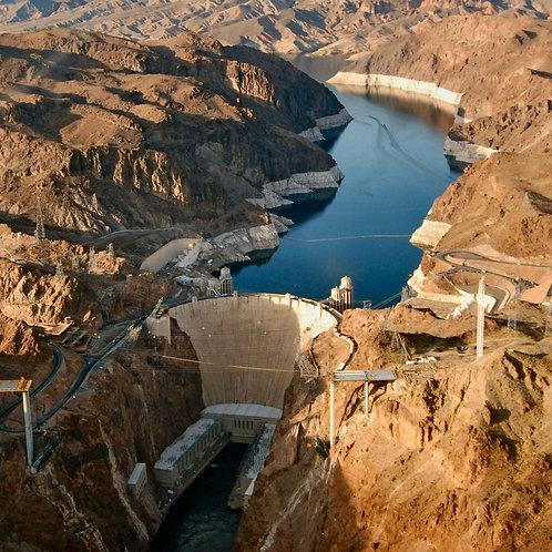 Las Vegas Strip and Hoover Dam