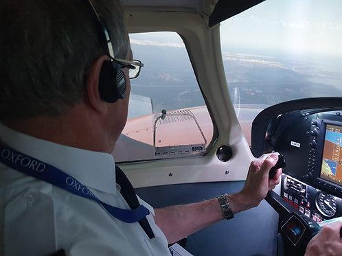 60 Minute Piper Seneca Virtual Flight Experience
