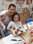 Atelier cupcake de noël
