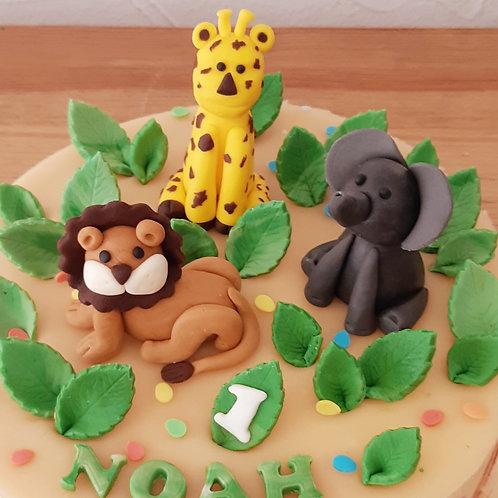 Atelier thème animaux de la jungle