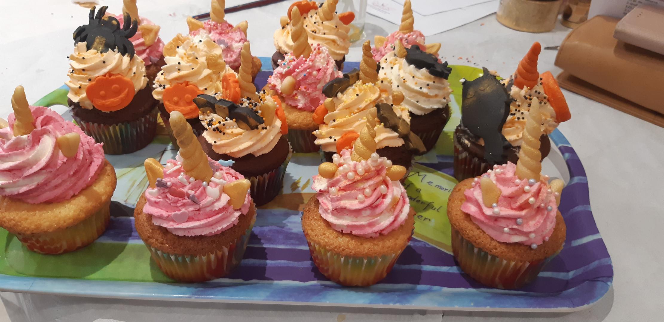Atelier cupcakes mère fille