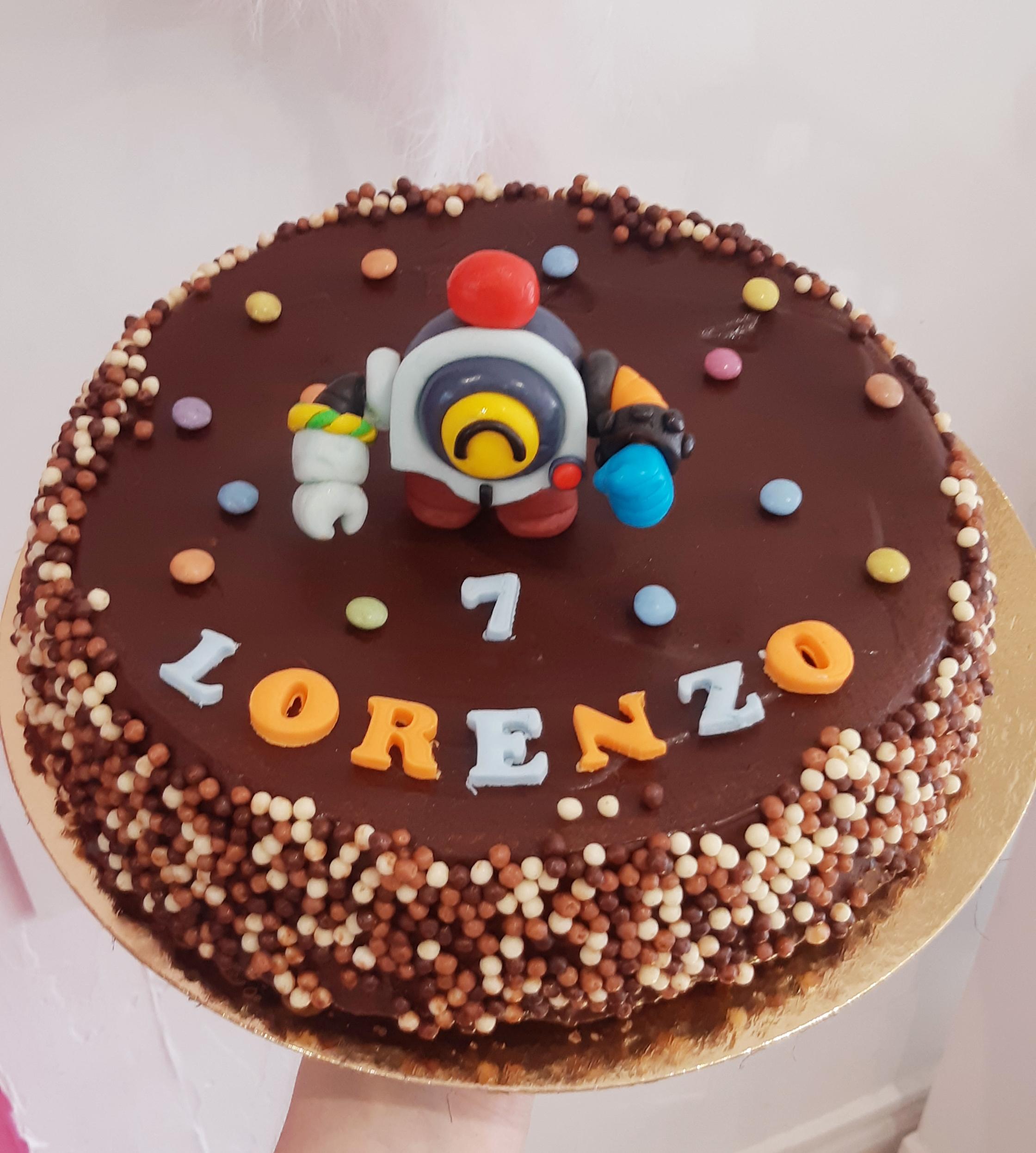 Gâteau personalisé