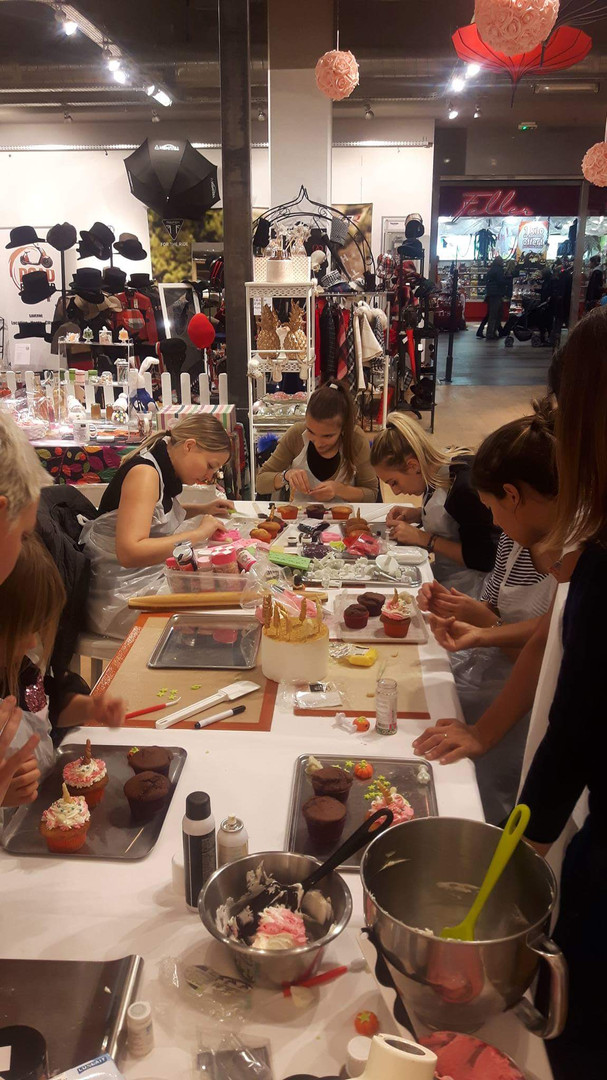 Atelier cupcakes - Boutique So british