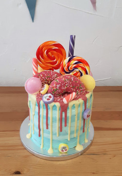 Drip cake gourmands