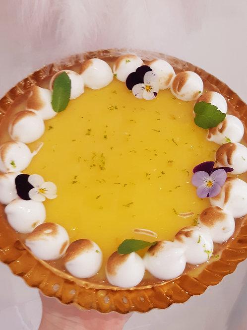 Tarte citron mojito